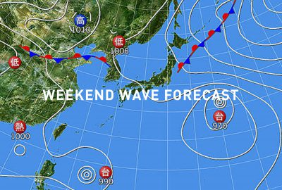weekend wave forecast 0727