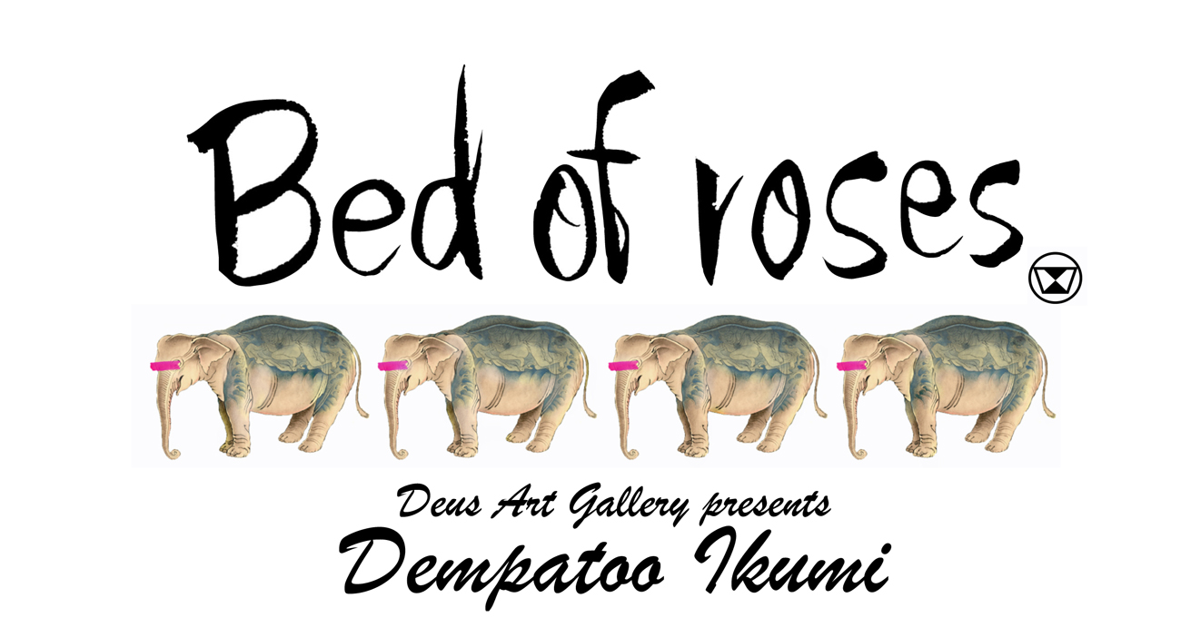 bed of roses個展